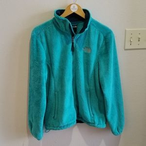 The North Face Teal Osito Fleece Jacket
